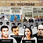 #MarzoEnHonorAChavez Los golpistas están al Descubierto.Son los mismos de siempre #PuebloValientePatriaIndependiente http://t.co/VTMVNL1Lh5