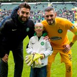 WATCH: Wee Jay received his GOTM award & did his own Ronny Roar at Celtic Park http://t.co/c3oxb07DV2 (NM) http://t.co/Ig0p19SD07