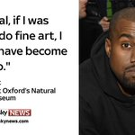 Rapper Kanye West has given a lecture at Oxford University; here are some of his best quotes http://t.co/DtTcaAyGk4 http://t.co/wM6gz3LqDN