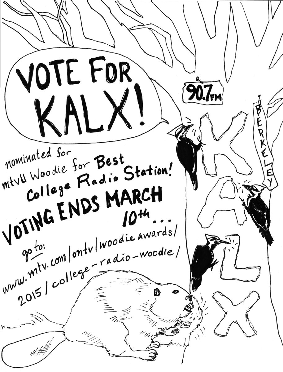 Keep voting for KALX! http://t.co/7dsXuwFRqE http://t.co/0vUUwsvcOs