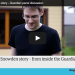 The Edward Snowden story – watch live here from 8,40pm (UK time) http://t.co/yvlaSX49kn #GuardianLive http://t.co/QGpwyYfS4t