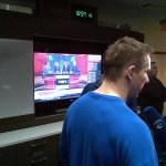 #Canucks watching #Tradecentre in the room after practice. #TSN http://t.co/syiSSWfuf0