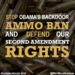 Join me to stop Obamas crusade to restrict our #2A rights! Tell @ATFHQ we oppose its misguided #ammoban #tcot #pjnet http://t.co/sIEKpP5jJY