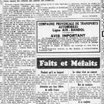 Quand #Marseille était une forêt. (La Marseillaise, août 1952). Le Bd Baille vu de la place Castellane en avril 1937 http://t.co/l3OeYPMcm8