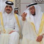 #صور نيابة عن سمو الأمير الشيخ جوعان يهنئ ممثل رئيس دولة #الإمارات الشقيقة بزفاف نجله #الوطن #قطر http://t.co/BKEqWL947u