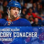 OFFICIAL - #Canucks acquire @conhockey19 from Islanders. Release - http://t.co/oDLn4Zomfq http://t.co/2gi54oRzQJ