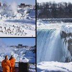 [Imágenes] Cataratas del Niágara, bajo cero http://t.co/BfhQjAWGA8 http://t.co/CejZCxzQw2