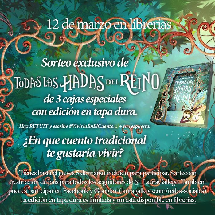 ✨ ¡Sorteo de edición limitada de #TodasLasHadasDelReino! ✨ RT + #ViviríaEnElCuento... http://t.co/ki8CeqLV8x