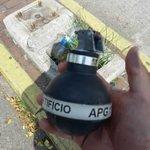 Venezuela: 1 bomba lacrimógena: 216$ 1 $ SIMADI: 176 Bs 1 bomba lacrimógena vale: 38.016 Es decir, 7 sueldos min http://t.co/1hyBlPZRbX