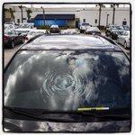 #Rays Tim Beckhams hit shatters Drew Smylys windshield. #NailedIt #SpringTraining #baseball #mlb http://t.co/7BQJMtRhk0