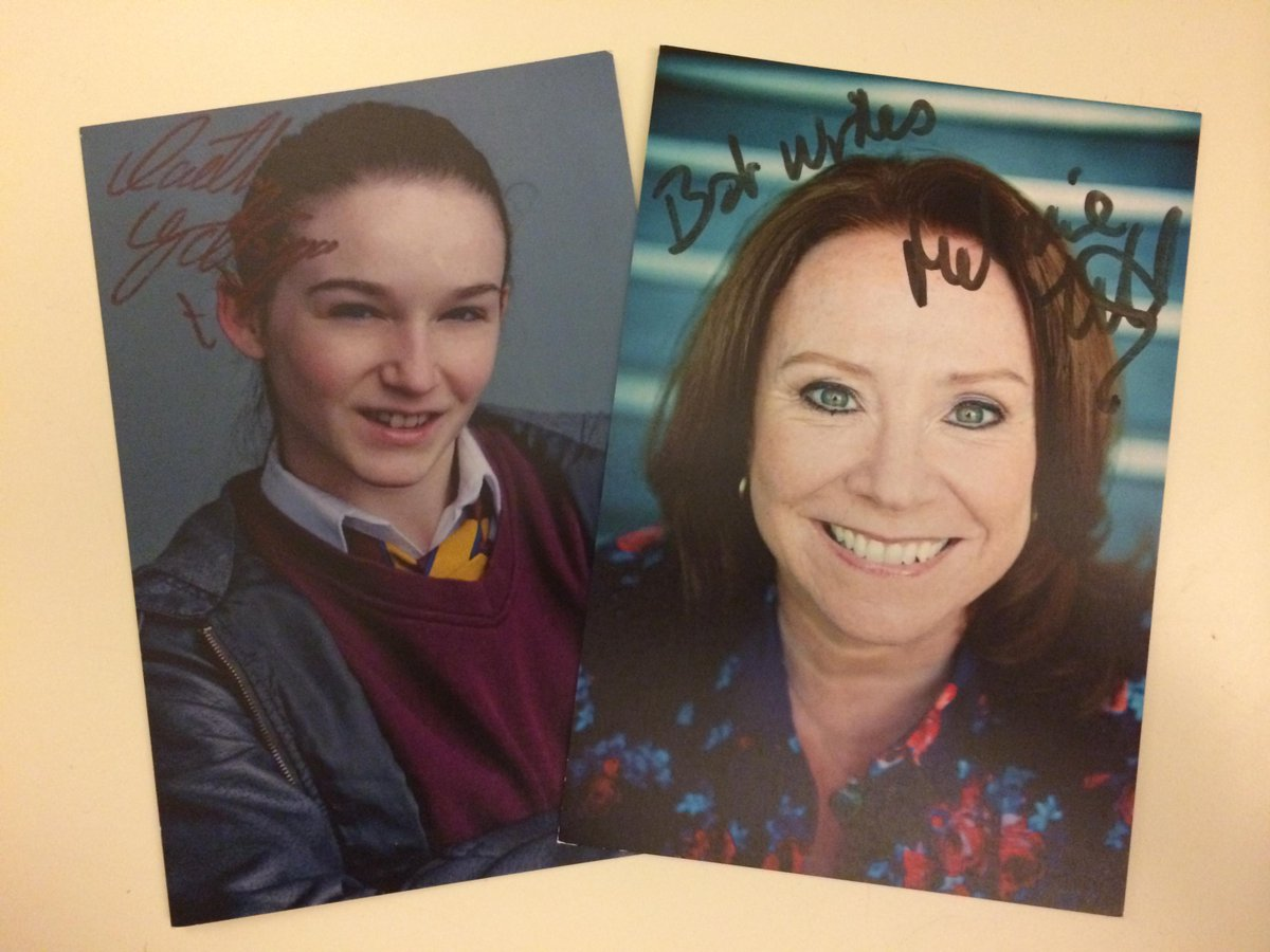 Less than 30 mins until #WaterlooRoad starts on @bbcthree! Retweet us & we might give you some signed cast cards!! ;) http://t.co/WmaRZ5PAaK