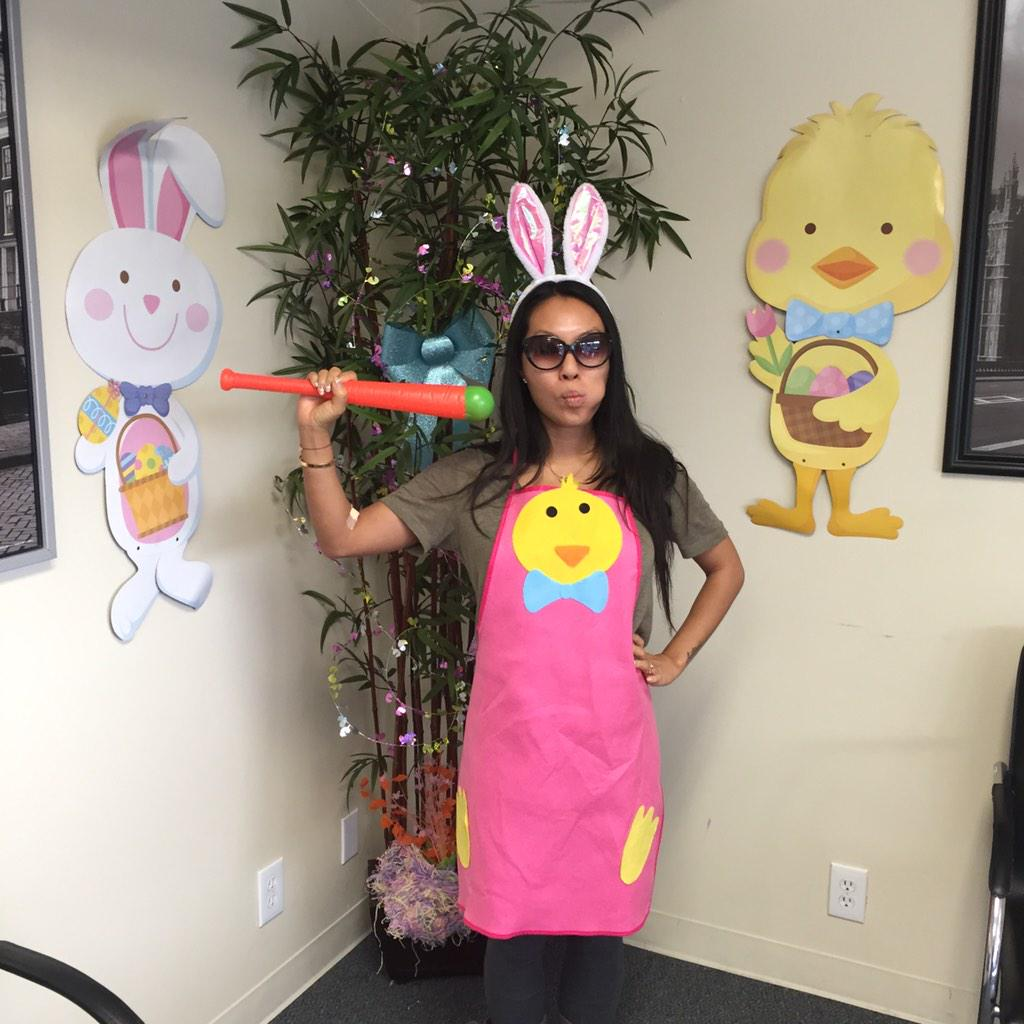 ...And this little bunny got tested for sexually transmitted diseases. Happy Easter from