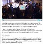 3% #Pegida betogers werd gearresteerd ???? @destandaard #Antwerpen http://t.co/UBVjNsxSJC