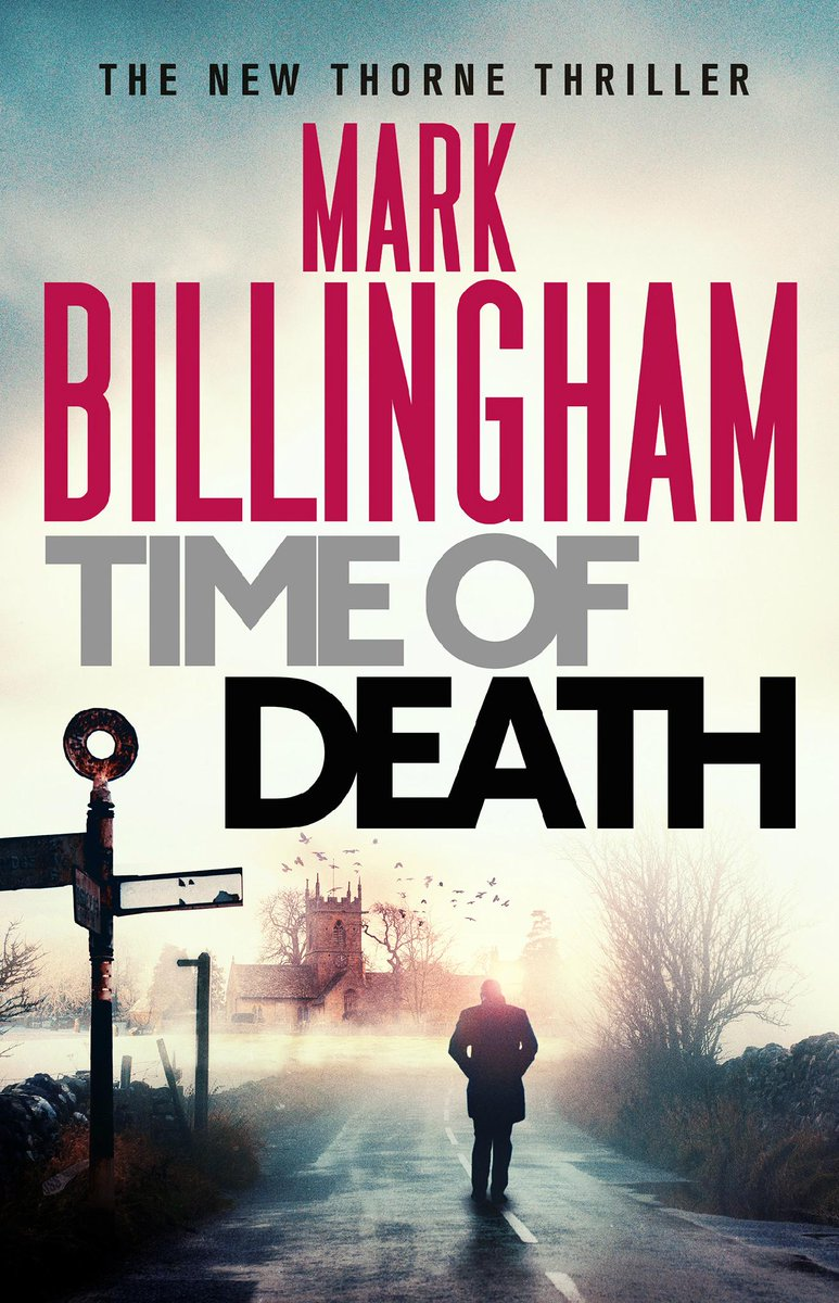 And here it is! The jacket for the new Thorne novel which is coming on April 23rd. MY PRETTY! #timeofdeath http://t.co/lBOC64LAa8