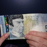 Spocking your $5 bill is not illegal, Bank of Canada says http://t.co/342yxPR6w6 http://t.co/S91DxqiX8z