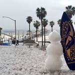 Wow. Nice shot of Hail in Huntington Beach, CA MT @EgyptianVia Rainy Day Greetings from Huntington Beach! http://t.co/WbCJTGghtR