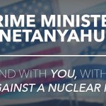 Proud to stand with Prime Minister Netanyahu, with the nation of Israel, and against a nuclear Iran! http://t.co/BMnzsa0Cpw