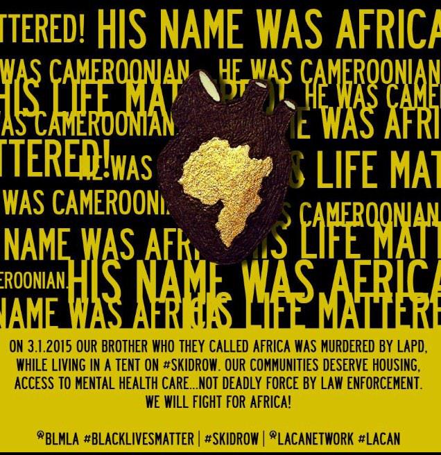 Join us tomorrow morning as we demand justice for Africa! 7am @LACANetwork  838 E. 6th St. #CantKillAfrica http://t.co/9vHrtthdLm