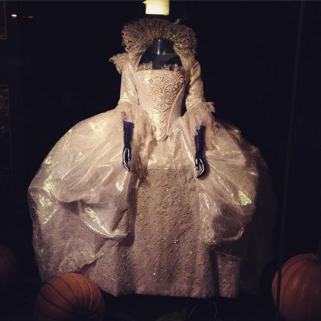 The Fairy Godmother's dress worn by Helena Bonham Carter is on display at the elcapitantha… http://t.co/mmEzCVeqBU http://t.co/AwTgjdkE2V
