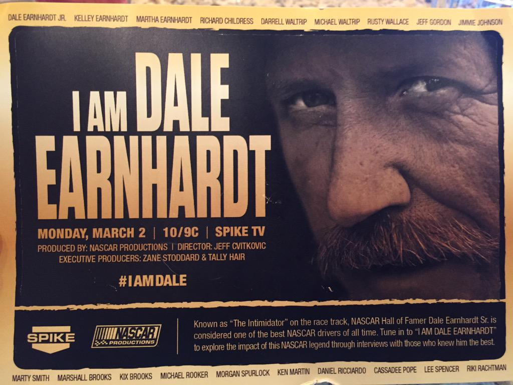 Man can't wait till this comes on tonight everyone shld tune in!! I did my senior project on the man!! #IAMDALE http://t.co/CP5V5PQIhv