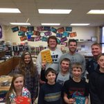 Thanks #Washburn student athletes and Coach Schurig for reading to Berryton Elementary #DrSuessBirthday #WeAreWU http://t.co/dlmeqIhgaW