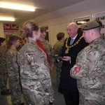 Very professional outfit at Tunbridge Wells Army Cadet Force. Delighted to hand over enrolment berets to new recruits http://t.co/bxTqmR9NWh