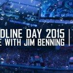 Jim Benning coming up at 3PM on @TSN1040. WATCH LIVE → https://t.co/3kma1KqSWb Tweet questions using #AskJim. http://t.co/1vZAPrsh9q