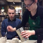 Twitter / @Sbux_Hydrostone: Coffee cupping with Jade @ ...