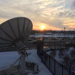Sunset in the Miami Valley...as seen from the @whiotv newsroom. http://t.co/896cU4pDDr