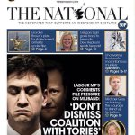 In case you missed it - front page of todays @ScotNational. #ge2015 http://t.co/LjrwG1d55c