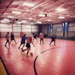 Day 2 of spring training was indoors at Mike Eimers Training Facility. Great #futsal session for our second practice! http://t.co/UC8R894ZmM