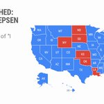 Looks like a few states are still holding out for a call, maybe. #GoogleTrends