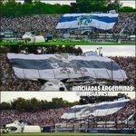 """""""@HinchadasAR: La vuelta del telón del Loco Fierro. Ayer Gimnasia en el clásico de La Plata. http://t.co/bzHwV8yc43"""""""