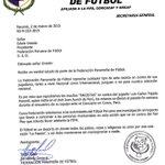 """""""@fepafut: Nota dirigida a EOviedo, pdte. F.P.F., pidiendo acciones contra actos racistas a LTejada. http://t.co/Jae5HcNphN""""  ¡Vergonzoso!"""