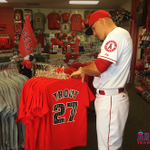 #TreatYoSelf to new gear from the Angels Team Store, because we know @Trouty20 did! #LAASpring #Angels http://t.co/msAZUFjBW1