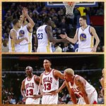 Warriors are 35-4 (.897) this season w/ current starters. Only starting 5 w/ better win percentage? 1995-96 Bulls. http://t.co/eSe3oVSHhw