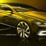 Volkswagen previews a Sport Coupe Concept GTE before #GenevaMotorShow (pictures) http://t.co/8G9hMTE4IQ http://t.co/sWcPIigFMw