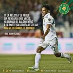 """#FraseFelina del """"Gallito"""" Vázquez, sobre su anotación en el partido Vs Santos. ¿Qué te pareció su gol?  #RugeFiera http://t.co/WXgEnz9QWB"""