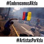 A tooodoooos mis seguidoresmAyudenme a difundir TODOS SOMOS VENEZUELA !!!!!  #EnderecemosAVzla #ArtistasPorVzla http://t.co/HtXDlSXlGP