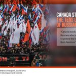 Canada stands with the tens of thousands of Russians who took to Moscow streets on Sunday. http://t.co/Wctr0XCR4v