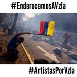 Por una Venezuela con independencia de poderes, respeto a los derechos humanos. #EnderecemosaVzla #ArtistasporVzla http://t.co/KcVuldcNTo
