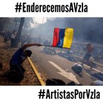 Porque Venezuela es su gente!! Enderezate tu!!! Y así.. #EnderecemosAVzla #ArtistasPorVzla http://t.co/JBdmSfutmT