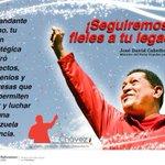 Seguiremos fieles a tu legado Cmdte Chávez y al pdte @NicolasMaduro #MarzoEnHonorAChavez y #MiRecuerdoConChavez http://t.co/ZOLMKrRCgC