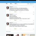 #Venezuela #ALERTA 2M PSICOLOGA,COLOMBIANA,GLORIA H, @revolturas ESTOS FUERON LOS TWITTS ORIGINARON AMENAZAS #MADURO http://t.co/Pkf46TFDKp