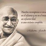 """#FraseDelDia """"... un esfuerzo total es una victoria completa"""" http://t.co/FKaCkWI9en"""