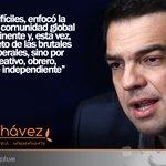 Alexis Tsipras: Enfocó la atención de la comunidad global a todo un continente #MarzoEnHonorAChavez http://t.co/l35YxrtcM4