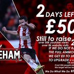 2 days to raise just over half, please if you can spare £1 consider a pledge #sufc http://t.co/rHicYNPKyY http://t.co/rtG3MIFajH