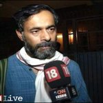 #AAPRift | @AapYogendra refuses to talk over rift in the party