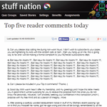 http://t.co/G2EkTLXyhG Todays Top Five Comments http://t.co/B68x838qcj