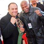 """""""Quien abandona la lucha, no tendrá el privilegio de saborear la victoria""""  Con un grande José Mantequilla Nápoles. http://t.co/rGxCMhLVqw"""